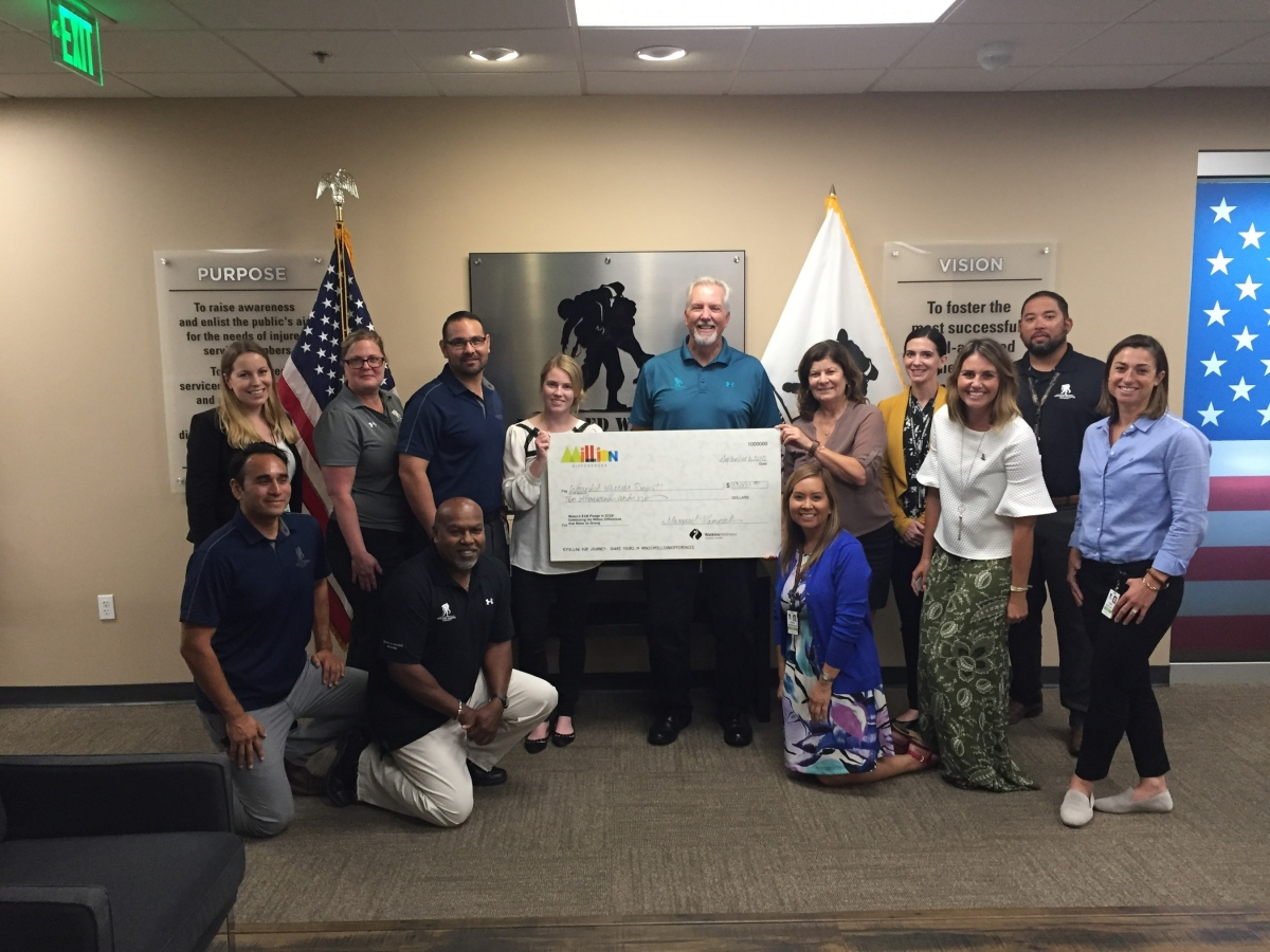 Watkins Wellness, Wounded Warriors Project, Charity